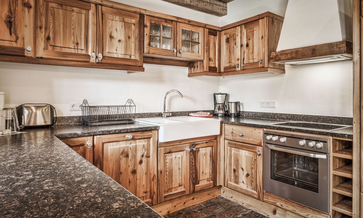 Self-catered chalet with fully equipped kitchen – st martin chalets