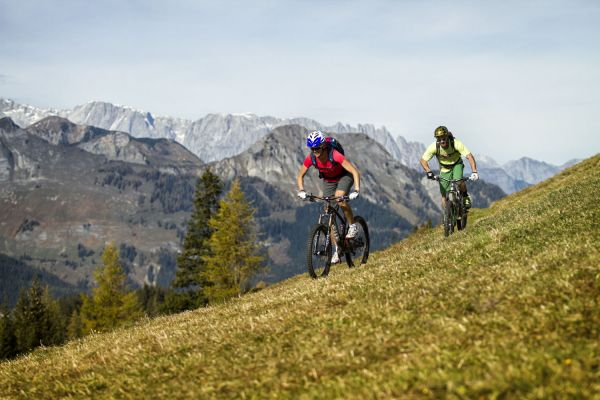 Mountainbiking in Salzburg's mountains – vacation at st martin chalets in Lungau